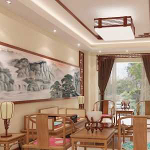 1000平中式别墅装修效果图