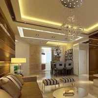 歐式風格復式富裕型客廳背景墻餐邊柜效果圖