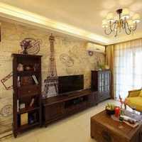 客厅沙发窗帘复式装修效果图