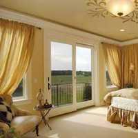 富裕型卧室美式90平米装修效果图