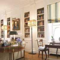 书架另类书房装修效果图