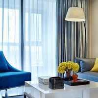 现代loft客厅米白色装修效果图