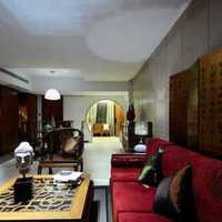 現代美式風格三室兩廳效果圖