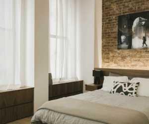 舒适美式时尚卧室清新工业