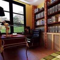 书桌中式吊灯中式书房中式装修效果图