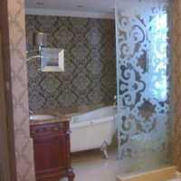 南北通透户型装修效果图90平一进屋是卫生间