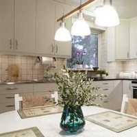 客廳廚房連體裝修效果圖