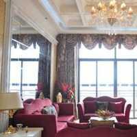 中式原木色客厅现代三居装修效果图