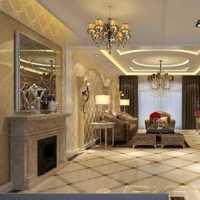 别墅客厅家具美式客厅装修效果图