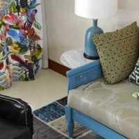 客厅客厅隔断简约中式茶几装修效果图
