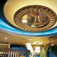 吊顶欧式地毯二居装修效果图