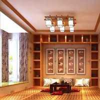 新中式四居室玄关隔断效果图