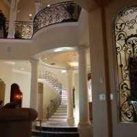家庭钢结构楼梯装修效果图