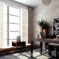 110平米二室二厅二卫电梯楼装修现代风格效果图
