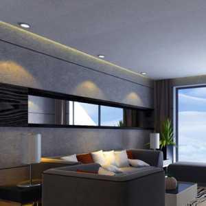 三室一厅客厅无窗装修效果图