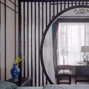 石家庄碧景园171平米徽派风格装修设计