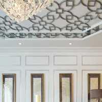 客厅吊顶美式吊灯客厅装修效果图