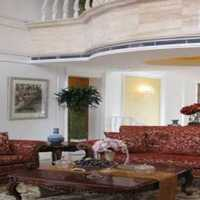现代客厅黑白地毯装修效果图