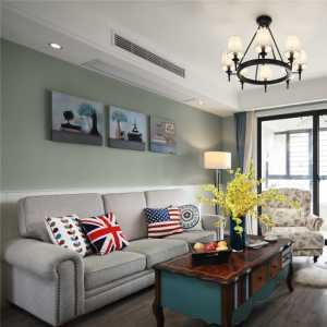 小户型两室两厅美式富裕型70-90平米