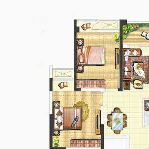 70平米別墅三層平面圖效果圖
