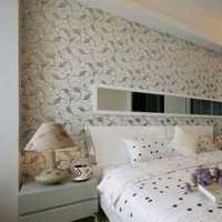 美式田园风开放式卧室装修效果图