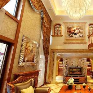 15萬打造老上海風_典雅復式居