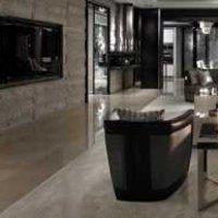 现代清新沙发背景墙装修效果图
