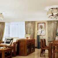 欧式三居室餐厅圆形吊顶装修效果图